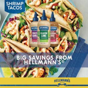 hellmann's drizzle sauce