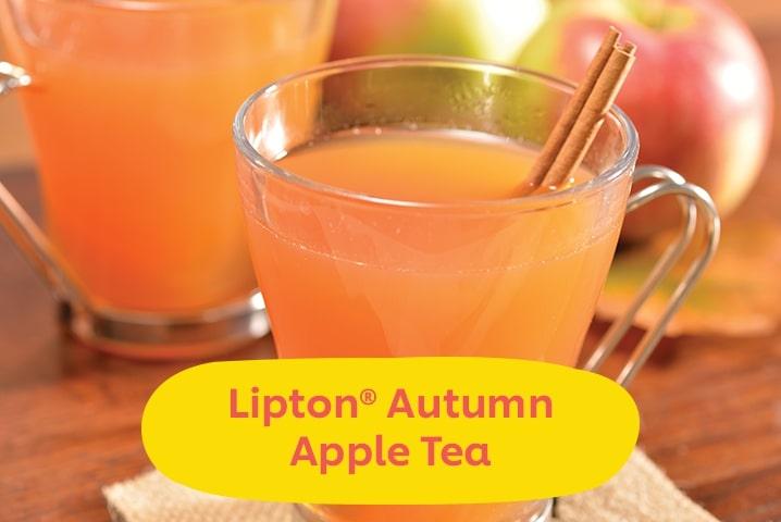 Lipton Autumn Apple Tea
