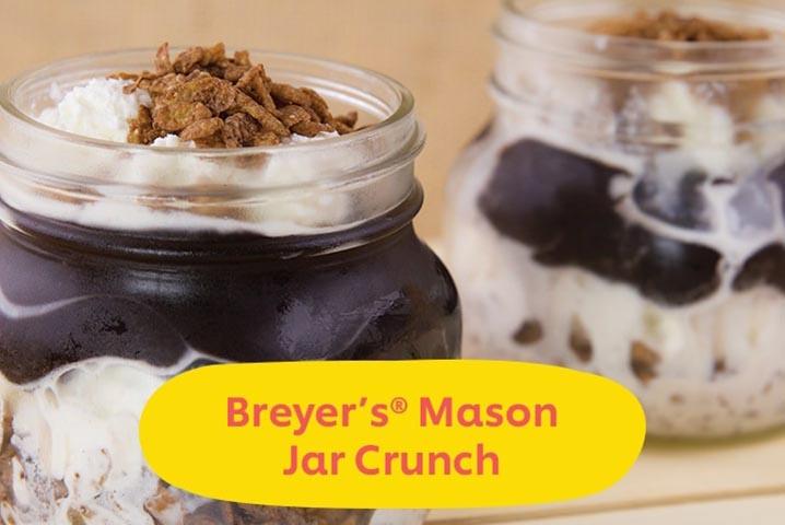 Breyer's Mason Jar Crunch
