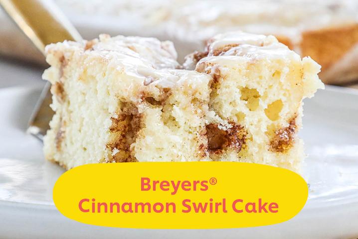 Breyers Cinnamon Roll Cake