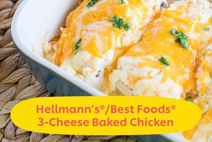 Best Foods 3 Cheese Chicken