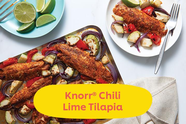Knorr Chili Lime Tilapia