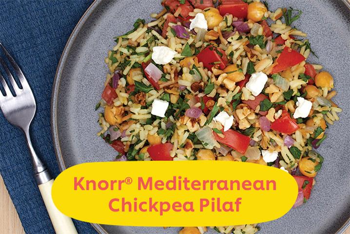 Knorr Mediterranean Chickpeas Pilaf