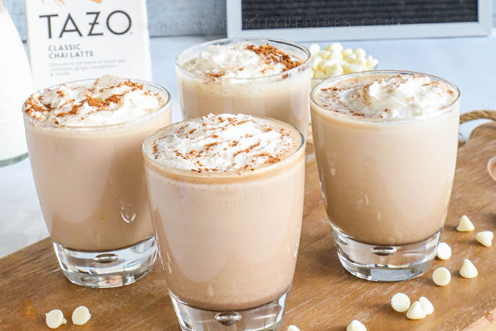 TAZO White Chocolate Chai Latte