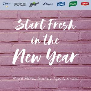 new year fresh